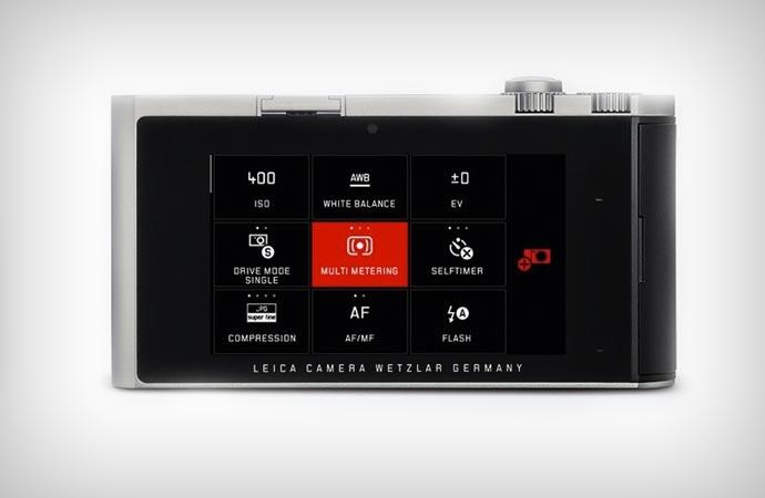 Leica T screen