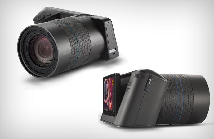 Lytro Illum Camera lens and screen