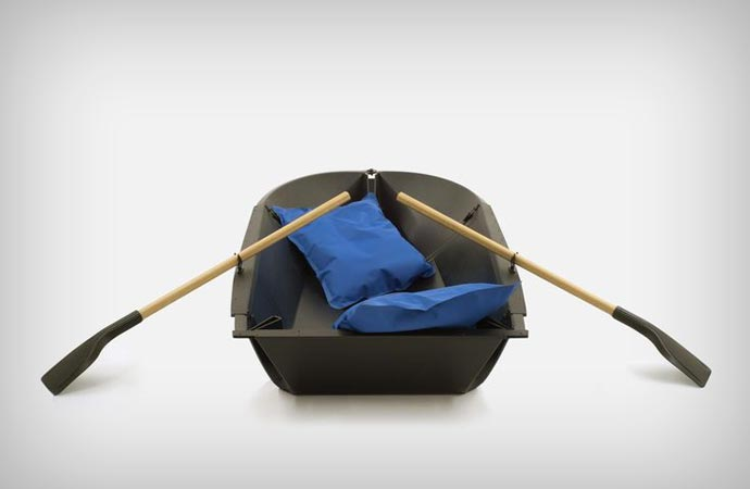 Maarno folding rowboat