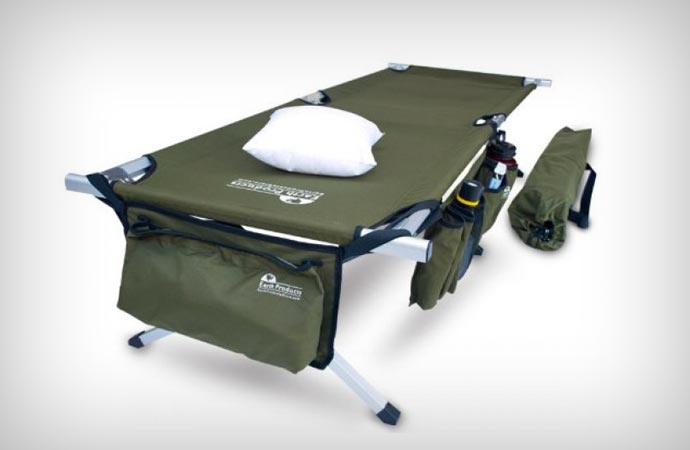 Military style crash cot