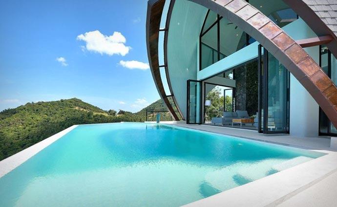 Pool at the Moon Shadow Villa