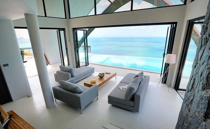 Moon Shadow Villa interior design