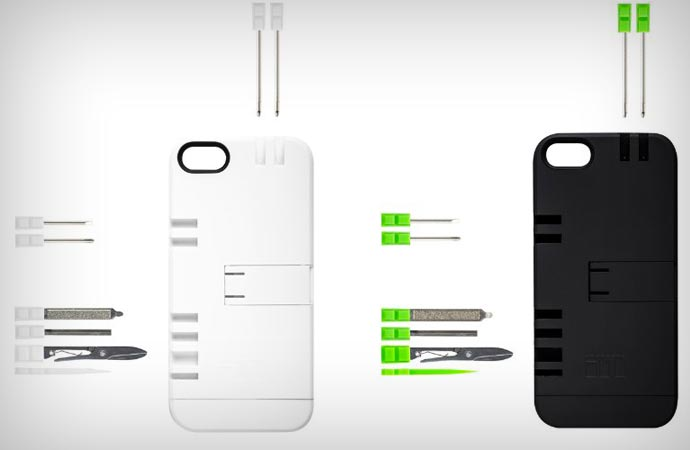 Utility case for iPhone 5