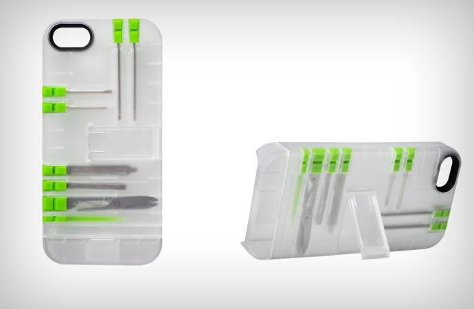 Multi tool case for iPhone 5