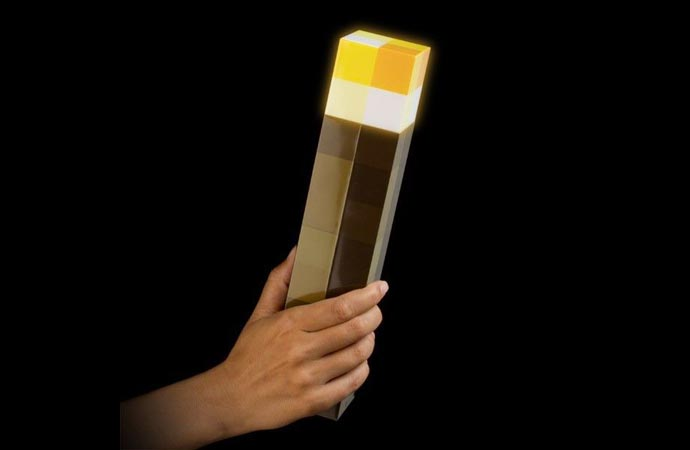 Minecraft torch light
