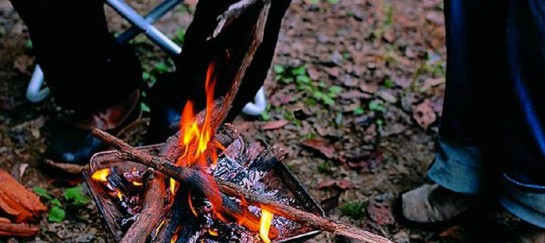 PACK AND CARRY CAMP FIREPLACE