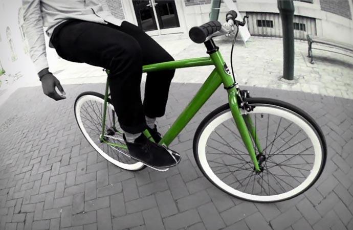 Sole fixed gear bike
