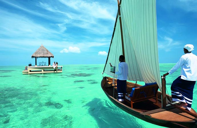 Taj Exotica Resort in The Maldives