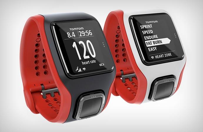 TomTom cardio gps watch