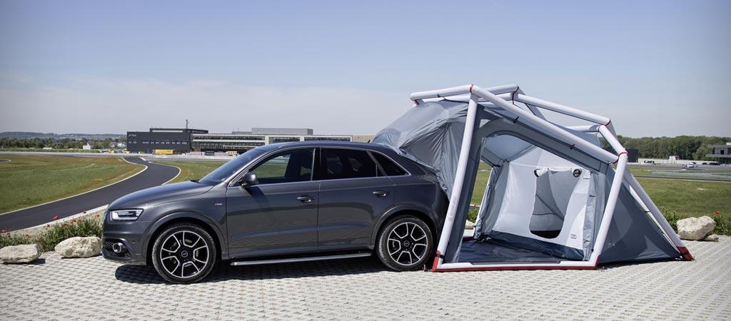 Audi Q3 tent