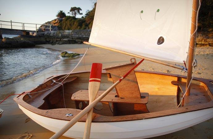 DIY sailboat