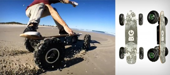 BIG DADDY ELECTRIC SKATEBOARD | BY FIIK