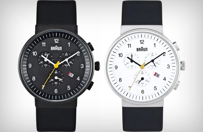 Braun gents chronograph