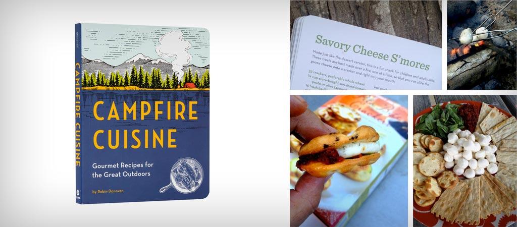 Campfire cuisine cookbook by Robin Donovan
