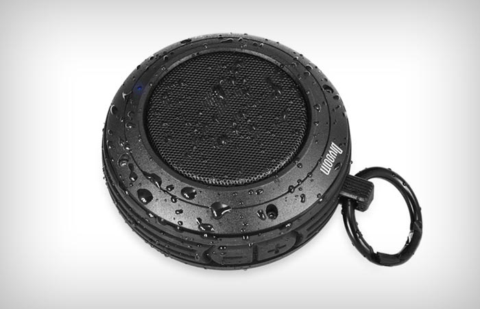 Waterproof and portable bluetooth speaker