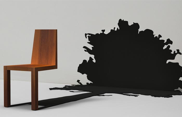 Tree shadow chair from Duffy London