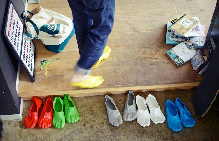 Fondue slipper colors