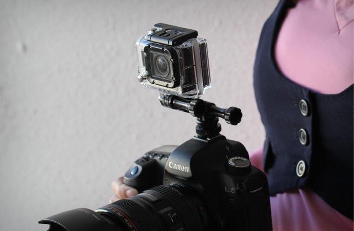 GoPro camera handle kit