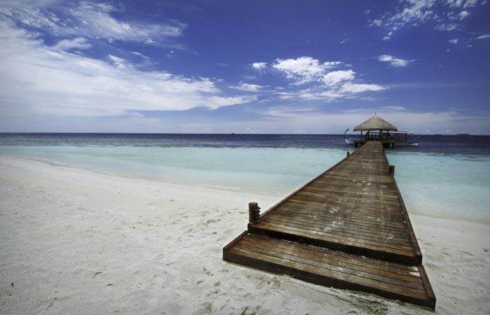 Kandolhu Island in the Maldives