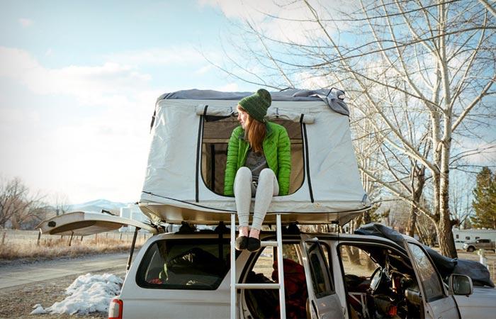 Le Tente car rooftop tent