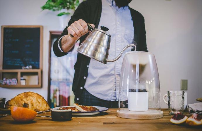 Manual coffeemaker