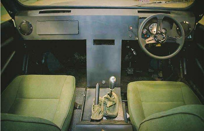 Mobius II interior