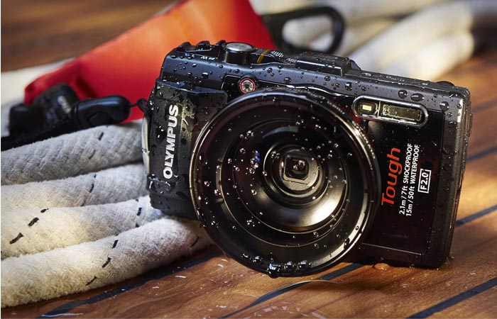 Weatherproof Olympus Tought TG-3