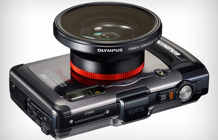 Olympus Tought TG-3 with a fisheye lens
