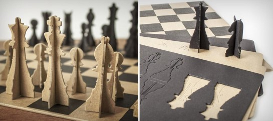 PAPER CHESS SET