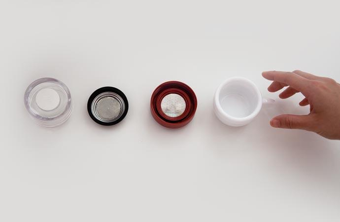 Piamo microwave espresso maker parts