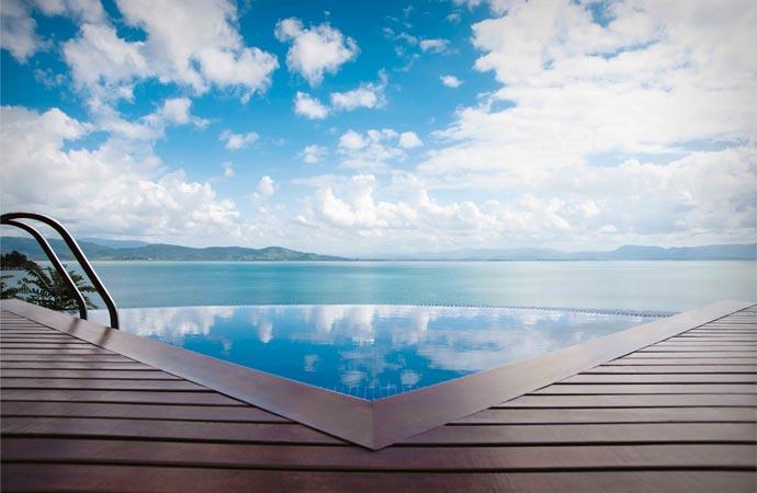 Ponta Dos Ganchos resort in Brazil