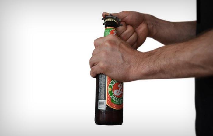 Ringtool bottle opener