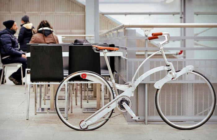 Collapsible bike from Sada