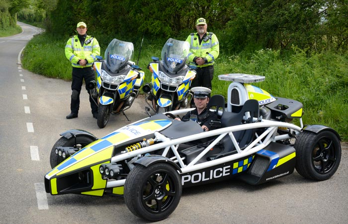 Ariel Atom 3.5 used by the police