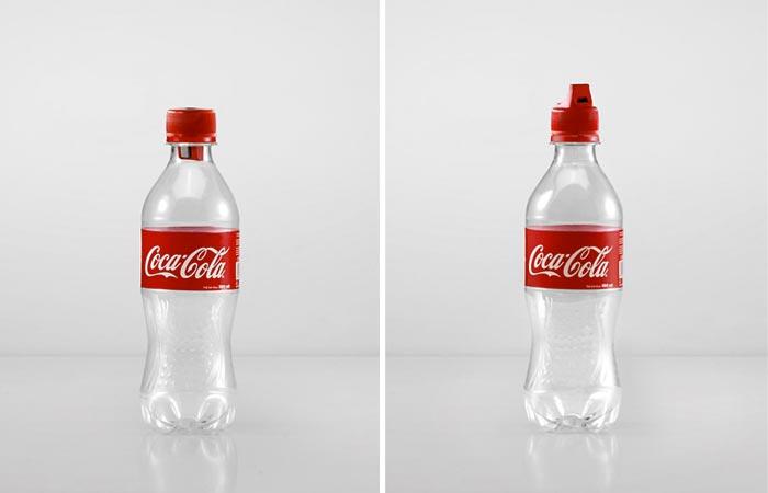 Reusable coca-cola bottles