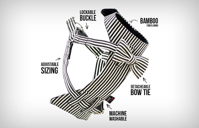 Classy dog harness