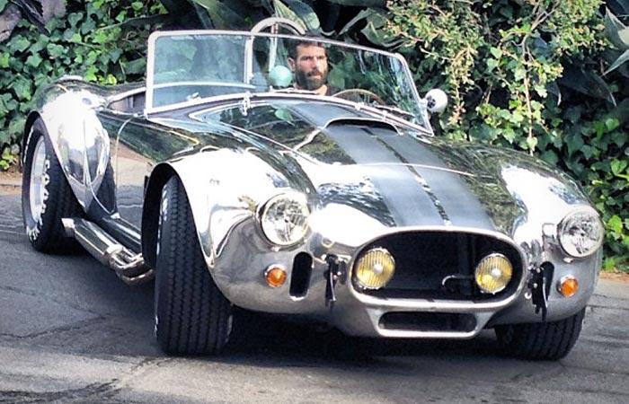Dan Bilzerian Vintage Race Car