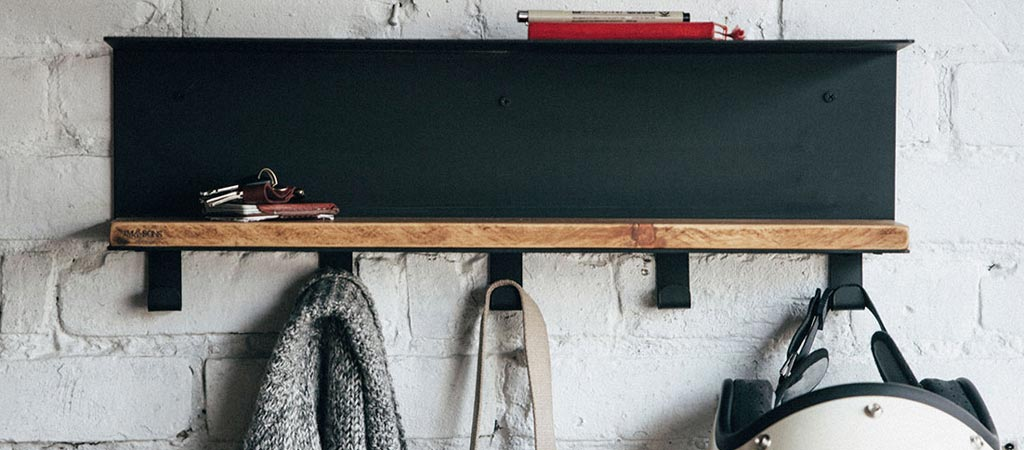 JM & Sons wall coat rack