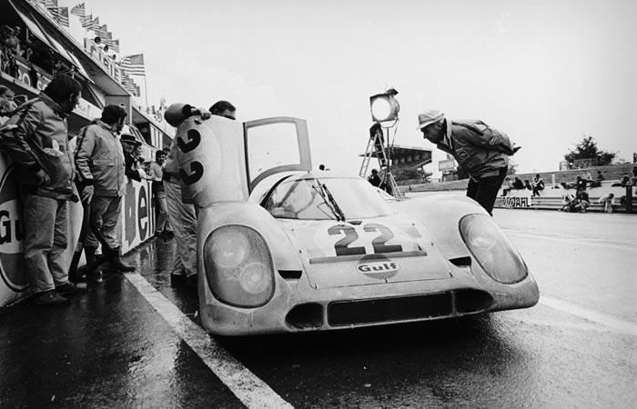 Steve Mcqueen at Le Mans