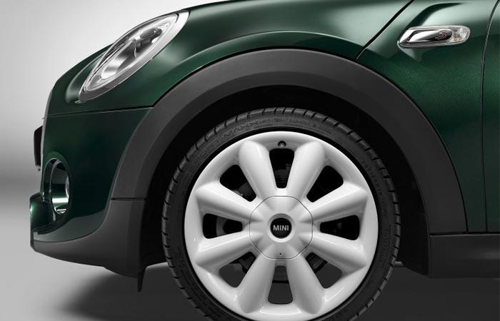 Mini Cooper SD tires and rim
