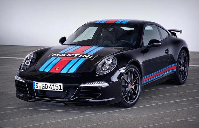 Porsche 911 Martini edition
