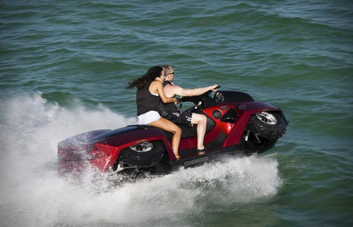 2 person amphibious ATV