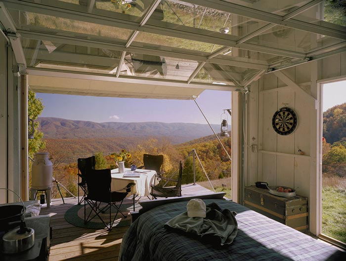 Interior design of The Shack by Broadhurst Architects