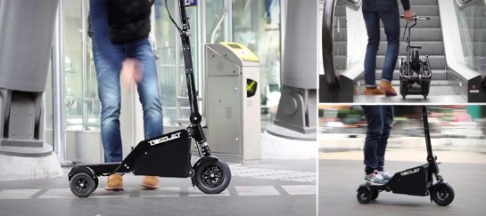 TRIKELET FOLDABLE ELECTRIC SCOOTER