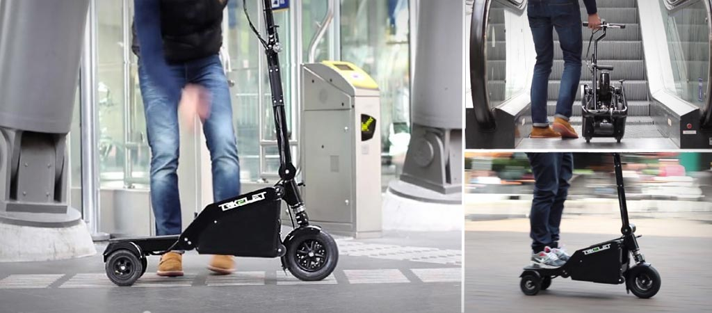 Trikelet foldable electric skooter