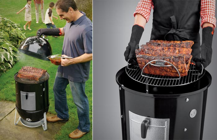Weber Smokey Mountain Smoker >> Weber Smokey Mountain Cooker Smoker