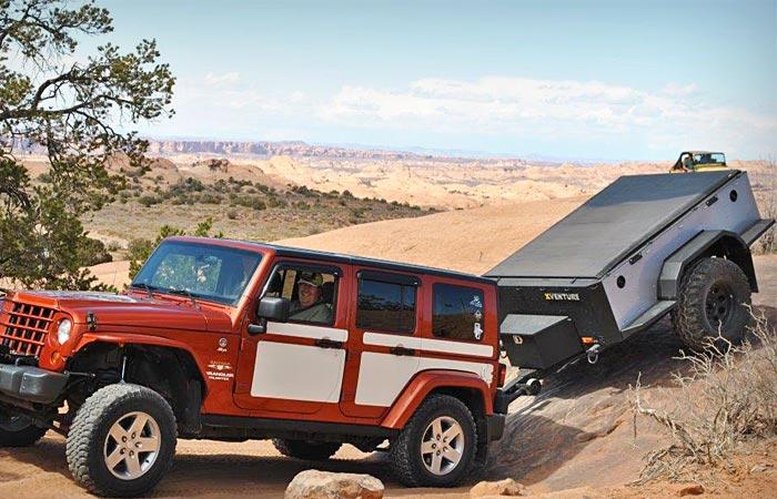 Xventure off road trailer