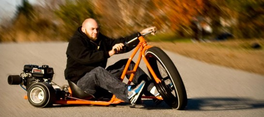 Big Wheel Drift Trikes By SFD Industries are SO MUCH FUN