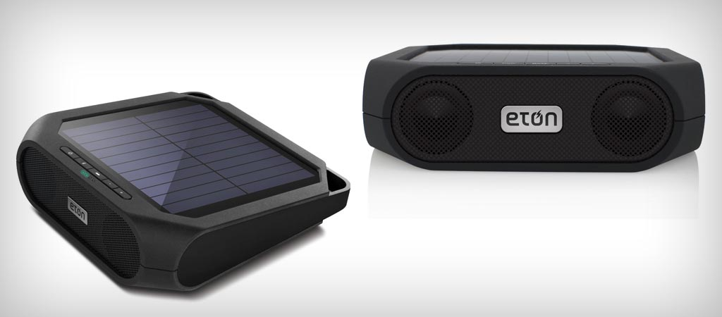 Eton Rugged Rukus Solar Wireless Speaker