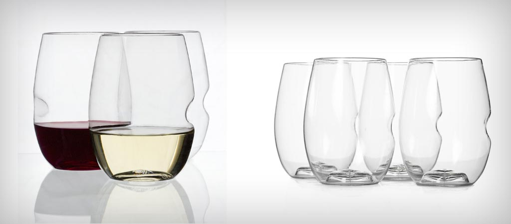 Govino flexible wine glasses